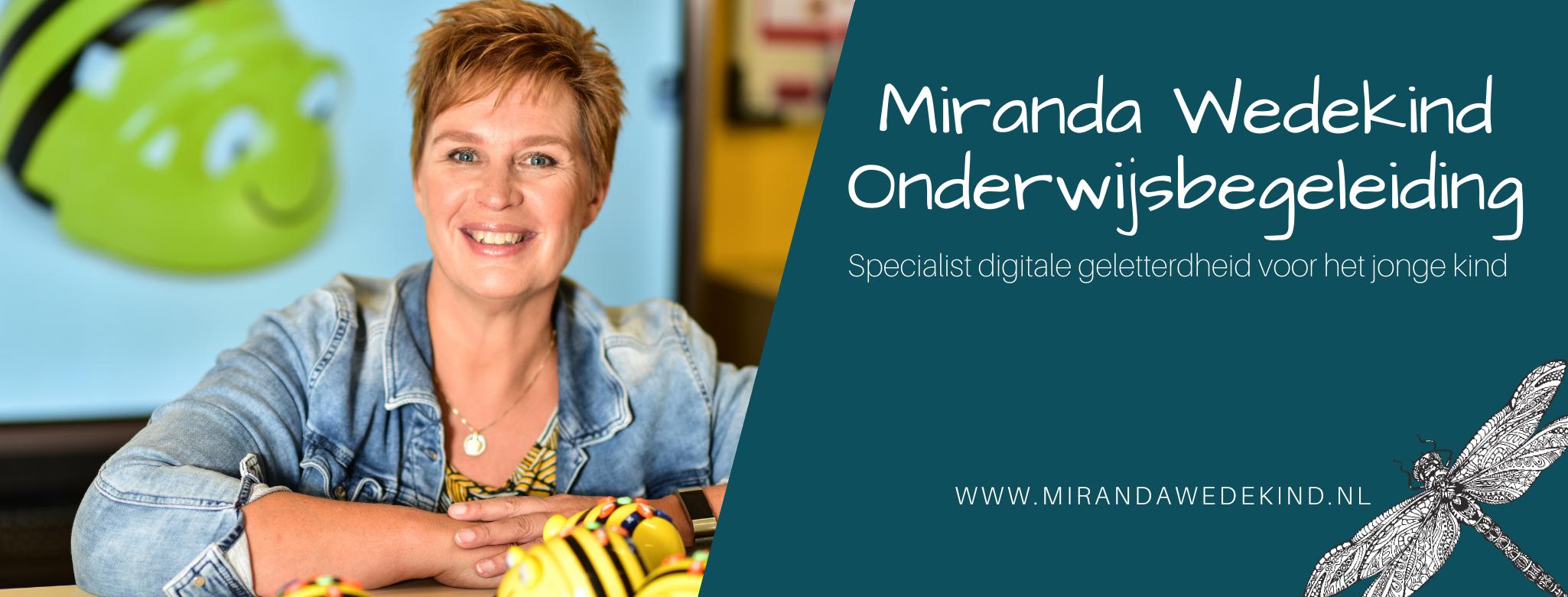 Miranda Wedekind Onderwijsbegeleiding Online Logo